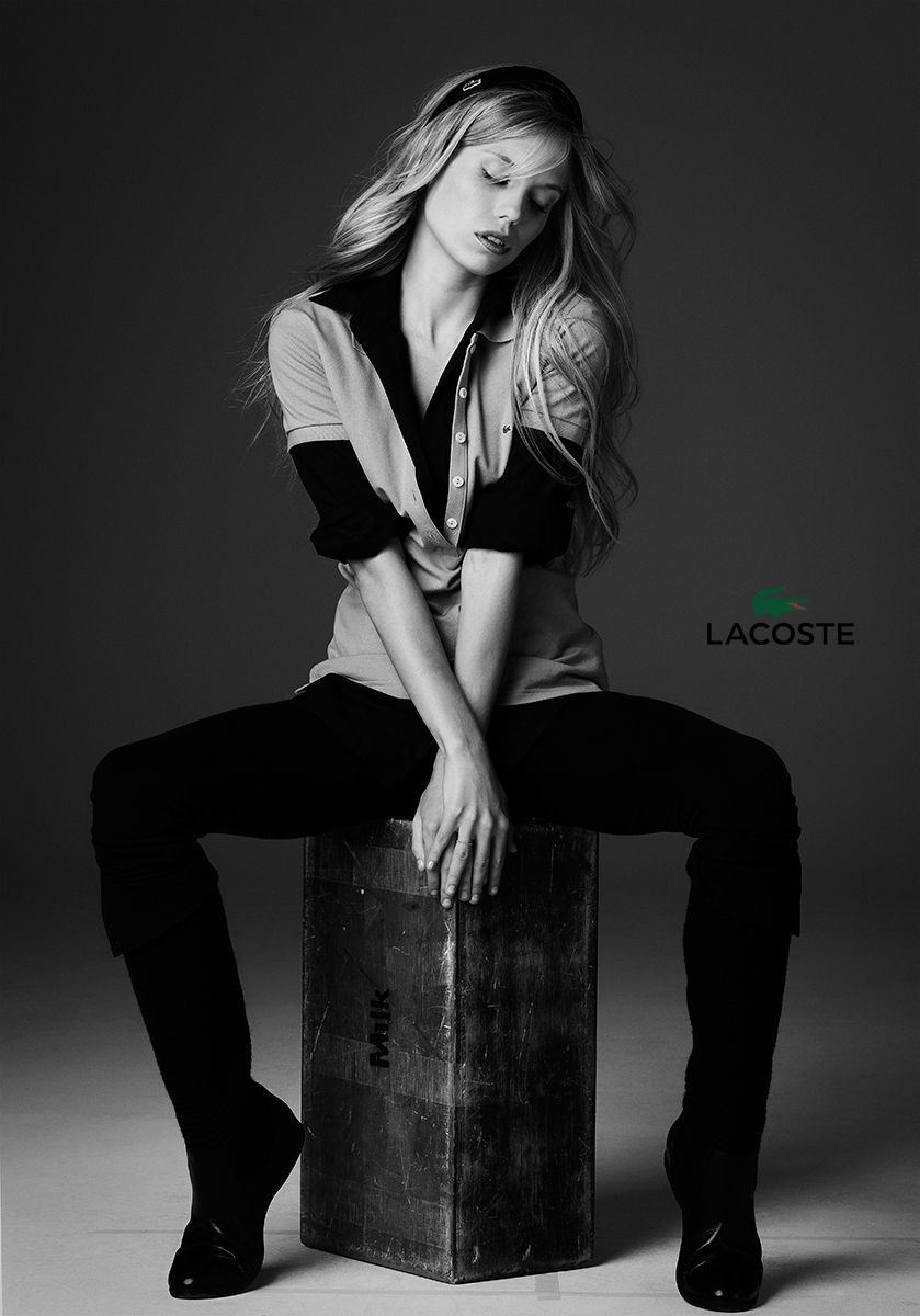 lacoste fashion ad