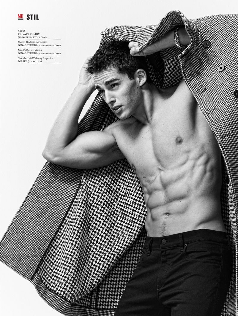 Mens Health Magazine -Pietro Boselli
