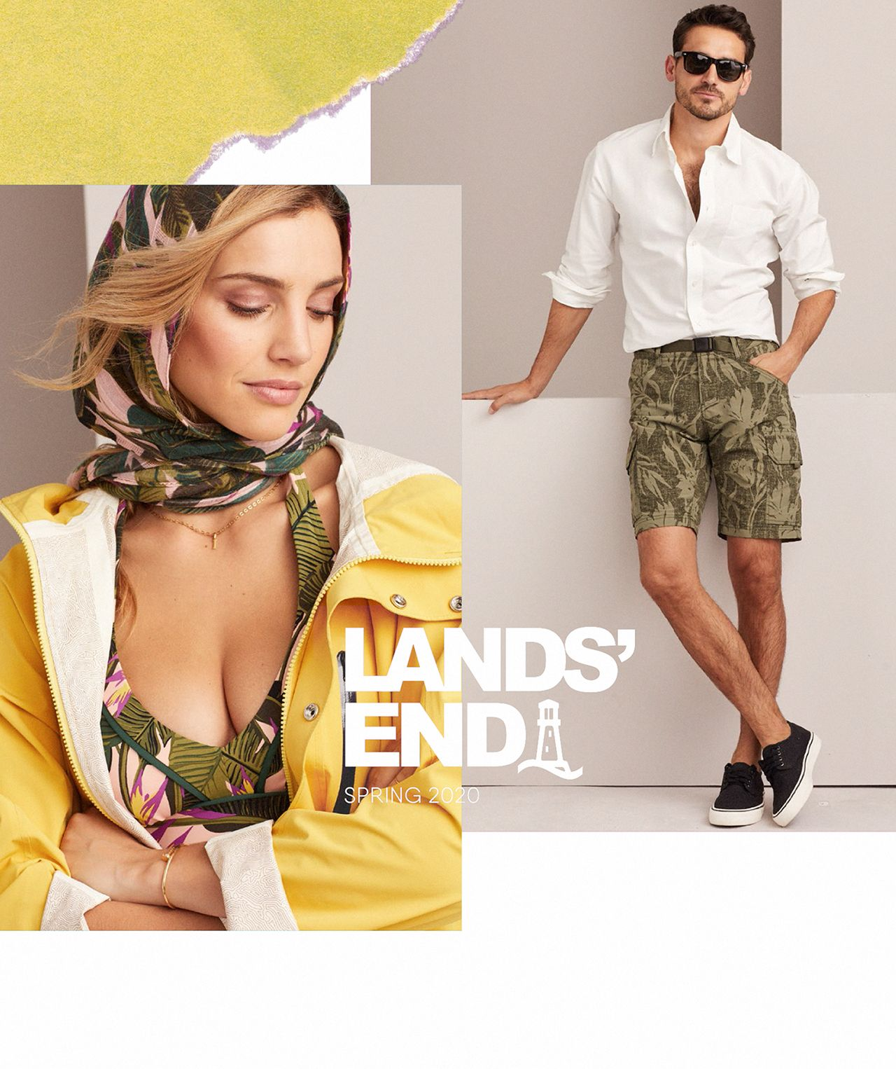 Lands End Spring Look-book 2020