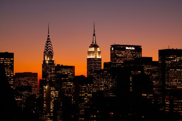 The Chrysler Building and Empire State Building