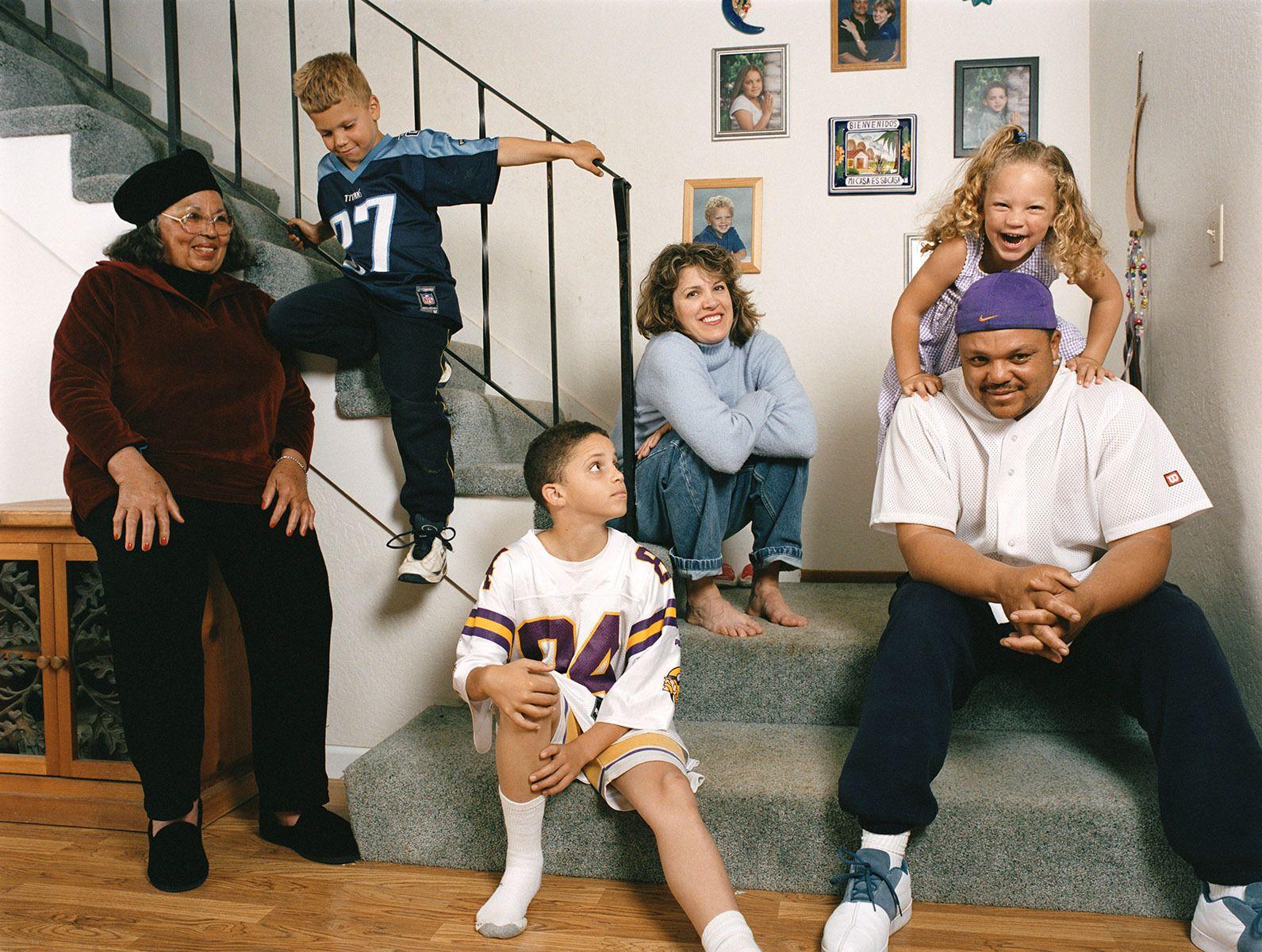 Janine, Evan & their children Weston, Austin & Isabella