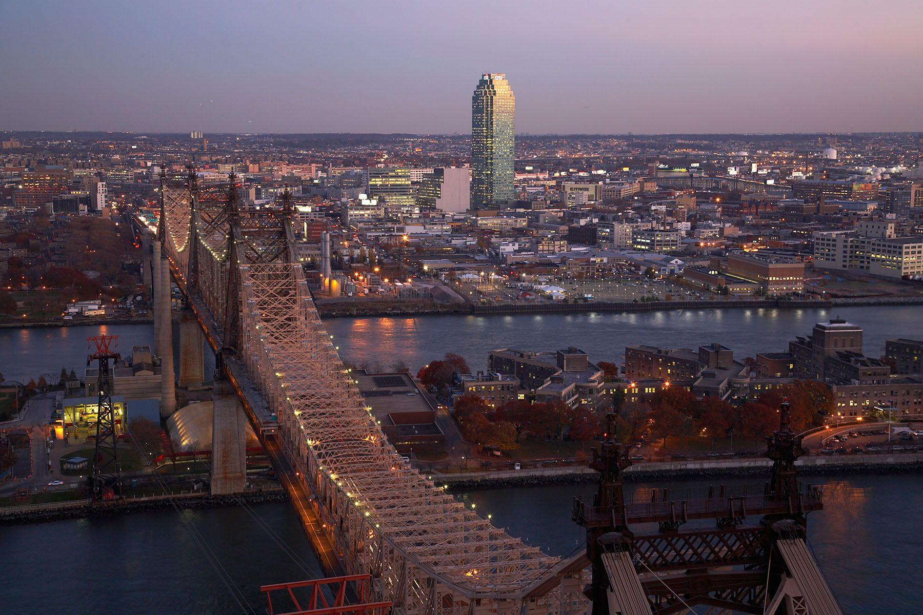 The East River & 59th Street Bridge