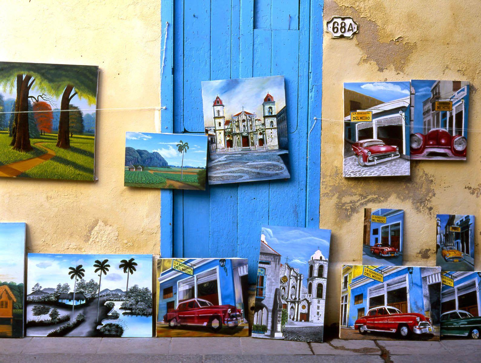 Artwork in Havana, Cuba