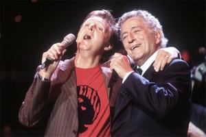Paul McCartney and Tony Bennett