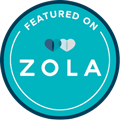 Featured on Zola Logo