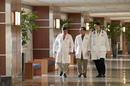 Doctors walking