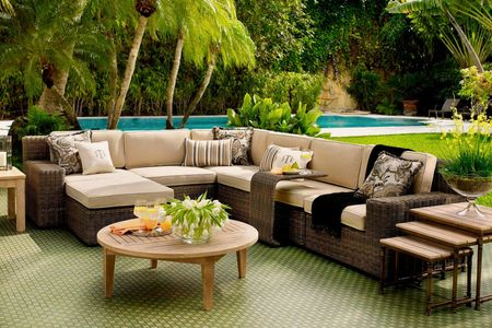 ratan patio furniture