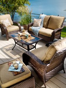 patio furniture lake side 2