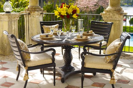 metal patio furniture 2