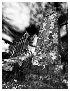 Old Scottish graveyard