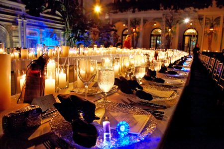 Versace-Mansion-party table