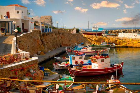 Bouka harbor Kasos Greece