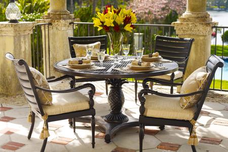 metal patio furniture 2