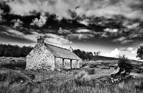 Old farmhouse on the Isle of Skye