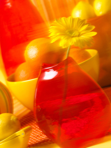 orange-yellow stilllife