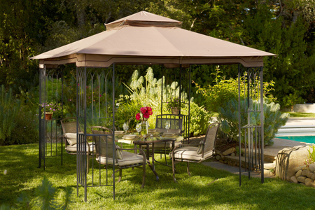 patio furniture gazebo
