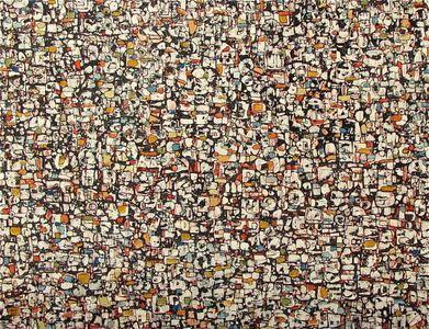 Samba 30x40 oil/ink on canvas 2013