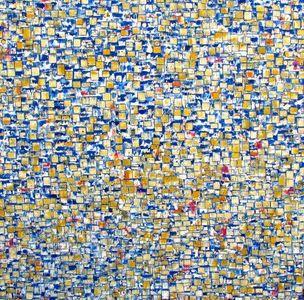 Blu Cobalto 60x60 oil on canvas 2014