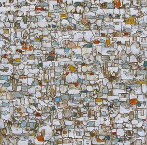 Ermine White, 24x24, oil on canvas, 2014
