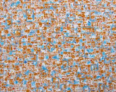 "Kona Orange, 48x60"", oil on canvas, 2016  $7,700Thomas Deans Fine Art/ Palm Desert, CA"