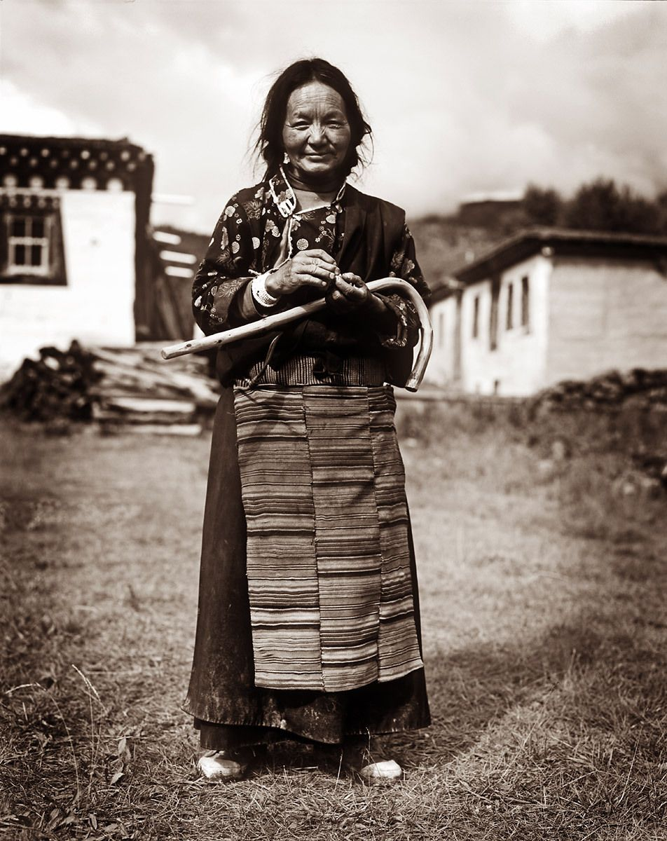 Tibetan Woman, Tsadeng