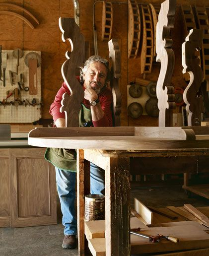 Gigi Ronchietto, Woodcarver. Santa BarbaraTaditional Home