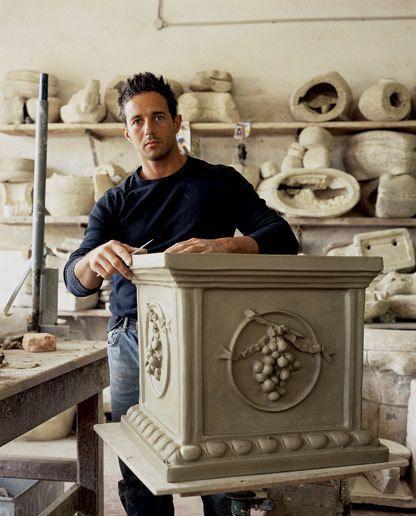 Francesco, Craftman Ceramiche Ceccarelli. TuscanyPhoenix Home & Garden