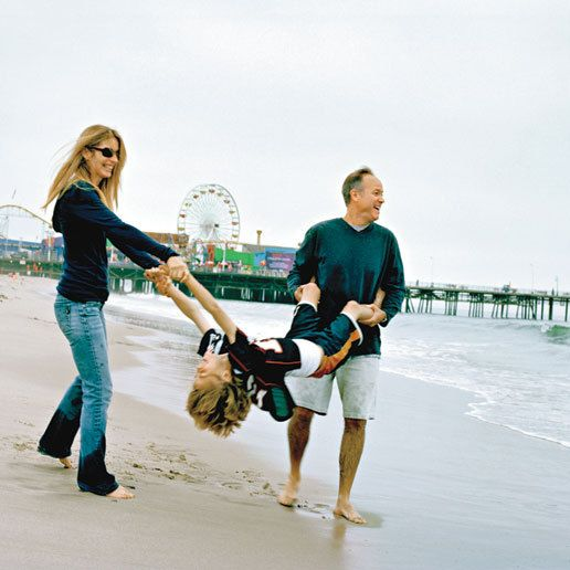 Sherry Bilsing, Mark Graham and Gavin, Santa Monica                        Coastal living