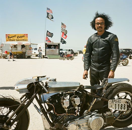 Shinya Kimura, Custom Motorcycle Builder. El Mirage