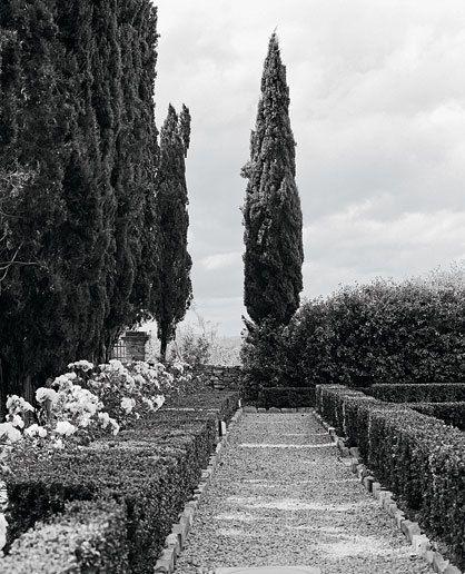 Ferragamo Gardens. Florence, Italie