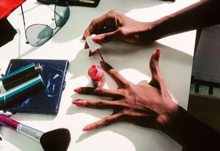 Iman's Hands, New York, 1982