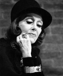 Gloria Swanson, New York, 1971