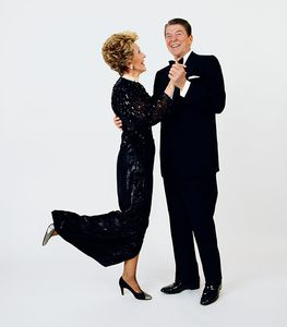 President and Mrs. Reagan, The White House, 1985