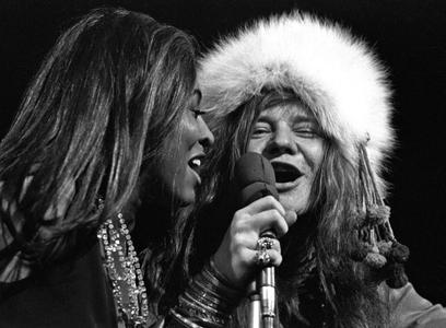 Tina Turner and Janis Joplin, Madison Square Garden, New York, 1968