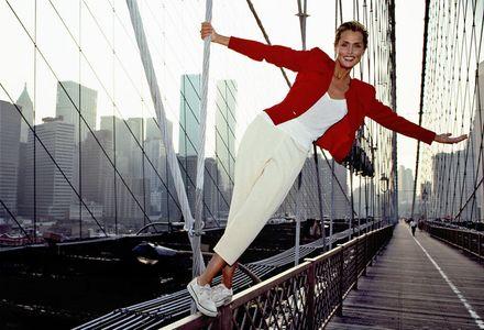 Lauren Hutton, NYC, 1990