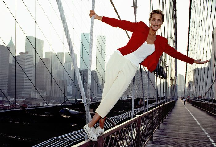 Lauren Hutton, NYC, 1990