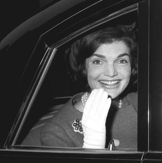Jacqueline Kennedy, Lodon, 1962