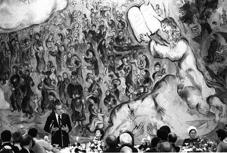 President Richard M. Nixon, the Knesset, Israel, 1974