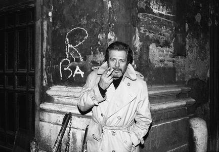 Marcello Mastroianni, Rome, 1987