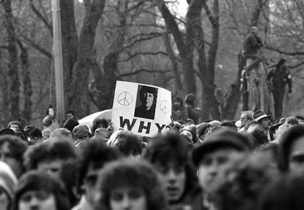 John Lennon Memorial, Central Park, New York, 1980