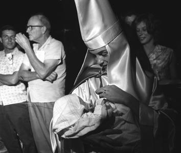 KKK Mother with Child, Beaufort, S.C., 1965