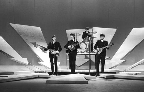 Beatles on the Ed Sullivan Show, New York 1964
