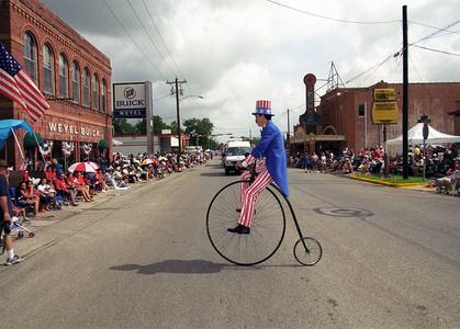 4th of July Parade, Seguin, Texas, 2002