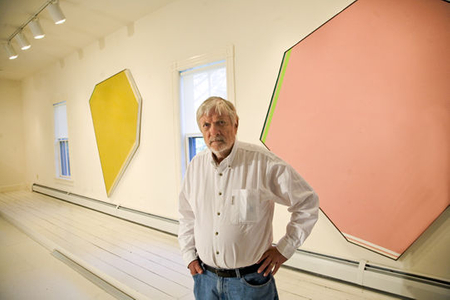 Kenneth Noland, Port Clyde, Maine, 2008.