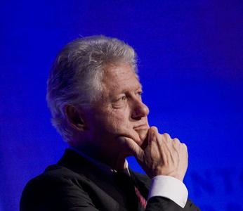 President William J. Clinton, New York, 2008