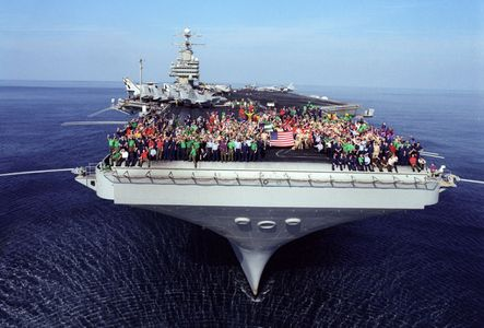 USS Theodore Roosevelt, Arabian Sea, 2001