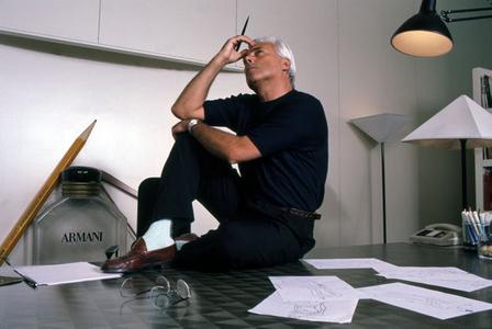 Georgio Armani, Milan, 1988
