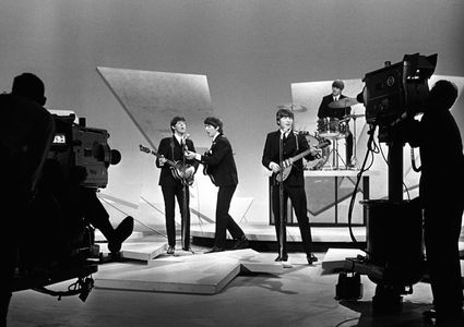 The Beatles on the Ed Sullivan Show, New York, 1964