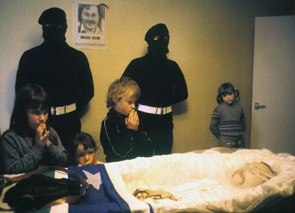 IRA Hungar Striker Mickey Devine, Northern Ireland, 1981