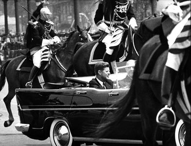 Presidents John F. Kennedy and Charles de Gaulle, Paris, 1961